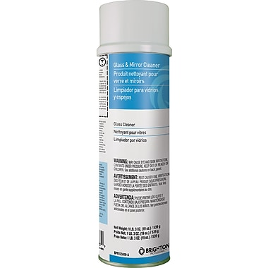 Brighton Professional trade; Aerosol Glass & Mirror Cleaner, 19 oz.