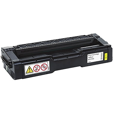 Ricoh Yellow Toner Cartridge (406478), High Yield