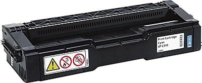 Ricoh Cyan Toner Cartridge (406476), High Yield