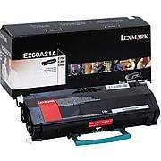 Lexmark E260A21A Black Standard Yield Toner Cartridge