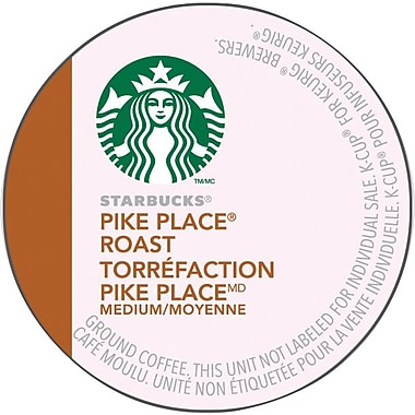 Starbucks® Pike Place® Roast Coffee K-Cup Refills, 24/Pack