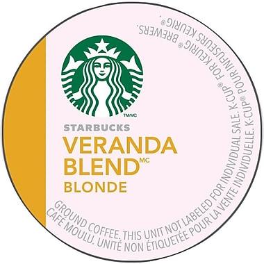 Starbucks® – Mélange Veranda, godets K-Cup, paq./24