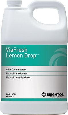 Brighton Professional™ViaFresh™Odor Eliminator, Lemon Drop, 1 Gallon