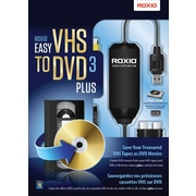 Roxio Easy VHS to DVD 3 Plus, Bilingual