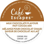 Mélange pour chocolat chaud Cafe Escapes™, chocolat au lait, recharges K-Cup