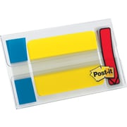 Post-it® Flags & Tabs, Assorted Sizes, Assorted Colors, 52/Pack (683686684)