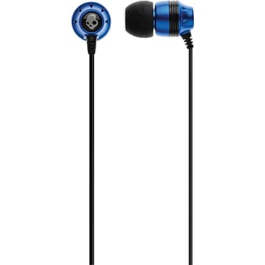 Skullcandy Ink'D Earbud Stereo Headset, Blue