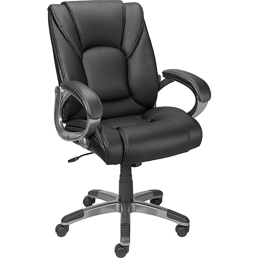 staples siddons managers chair black staples. Black Bedroom Furniture Sets. Home Design Ideas