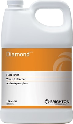 Brighton Professional™ Diamond™ Floor Care Floor Finish 20% Solids, 1 gal. (BPR511001-A/STP)