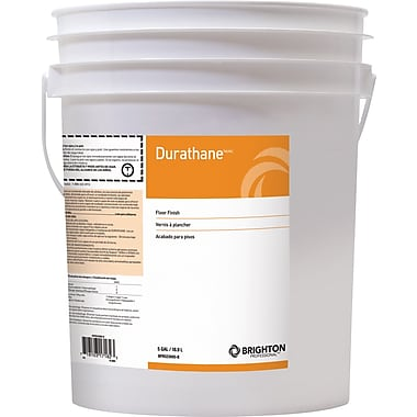 Brighton Professional™ Durathane™ Floor Care High-Gloss Floor Finish 24% Solids, 5 gal., Pail