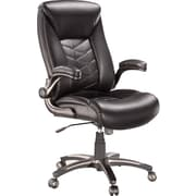 Staples Cermeno Bonded Leather Managers Chair Brown Staples