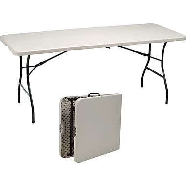 Staples® 6' Fold in Half Folding Table