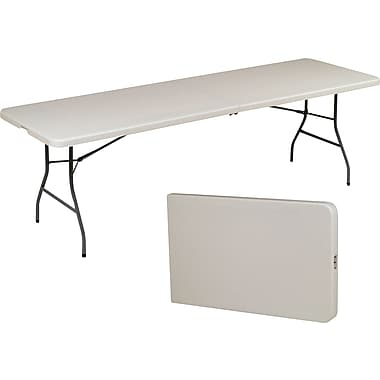 Staples® 8' Fold in Half Folding Table