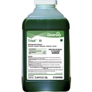 Diversey™ Triad™ III Disinfectant Cleaner Refill, J-Fill®, Mint Scent, 2.5 Liters, 2/Ct