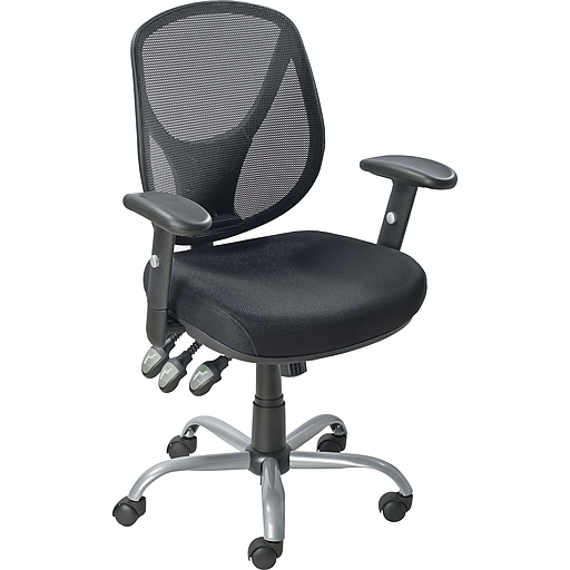 Staples Acadia Ergonomic Mesh Mid-Back Office Chair