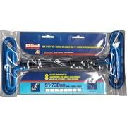 Eklind® Tool 8 Pieces Cushion Grip Hex T-Key Set, Steel, 2.5 - 10 mm