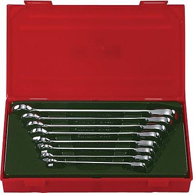 Blackhawk® 8 Pieces Metric Reversible Ratcheting Wrench Set