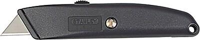 Stanley® Homeowner's Retractable Utility knife, Steel, 6-1/8