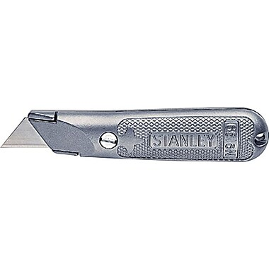 Stanley® Classic 199® Fixed Blade Utility knife, Steel, 5-1/2