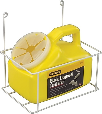 Stanley® Blade Disposal Container