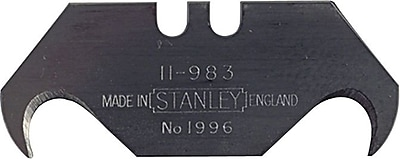 Stanley® Large Hook Knife Blade, Steel, 1-7/8