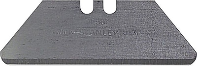 Stanley® Round Point Utility Knife Blade with Dispense, Steel, 1-7/8