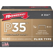 Arrow® Fastener P35 Heavy Duty Staple, 3/8""