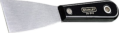 Stanley® Flexible Blade Nylon Handle Putty Knife, Steel, 1 1/4