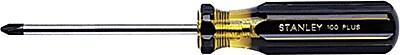Stanley® 100 Plus® 1 Point Phillips Tip Screwdriver, #1 Tip Size, 6 3/4