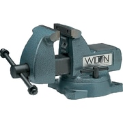 "Wilton® Tools Series 740 Heavy Duty Mechanic's Vise, 5 3/4"" Max Opening, 360° Swivel, 1/4 - 3 1/2"""