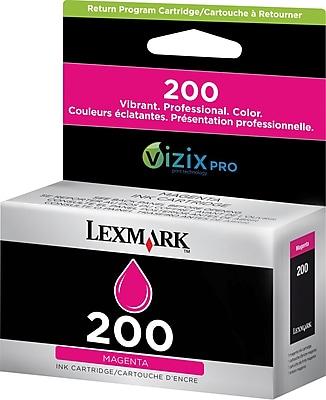 Lexmark 200 Magenta Ink Cartridge (14L0087)