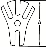 "Proto® Forcing Puller Screw, 3/4-12 ACME x 3/4"" Hexagonal."