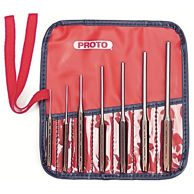 Proto® 7 Pieces Roll Pin Punch Set, 1/4 - 7/32
