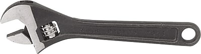 Proto® ProtoBlack™ Adjustable Wrench, Forged Alloy Steel, 10