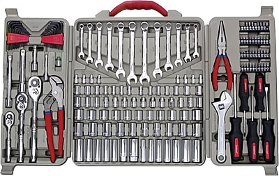 Cooper Hand Tools Crescent® 170 Pieces Closed Case Mechanic's Tool Set