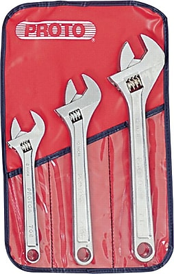 Proto® 3 Pieces Adjustable Wrench Set