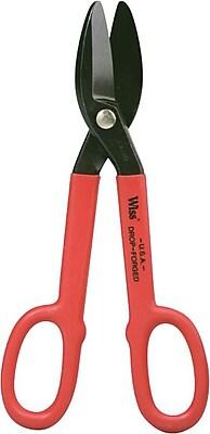 Wiss® Straight Pattern Tinner's Snips, 1/2.
