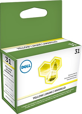 Dell Series 31 Yellow Ink Cartridge, (YWKG8)