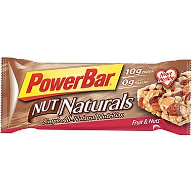 PowerBar® Nut Naturals Fruit & Nuts, 1.58 oz. Bars, 15 Bars/Box