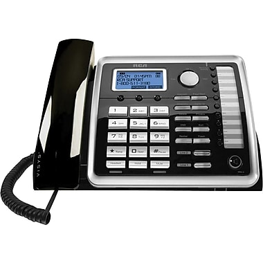 RCA 25260 2-Line Speaker Phone, Corded