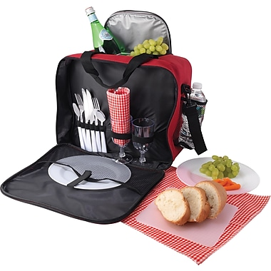 Red Picnic Set for Two
