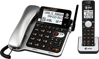 CL84102 DECT 6.0 Corded/Cordless Telephone Answering System