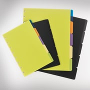 "Staples® Arc System Tab Dividers, Assorted Colors, 9"" x 11"""