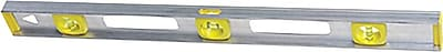 Stanley® Top Read Builders Spirit I-Beam Level, 24 in (L) x 2.1 in (W) x 0.9 in (H)