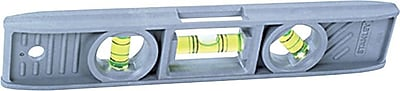 Stanley® Spirit Torpedo Level, 9 in (L) x 3.9 in (W) x 0.8 in (H)