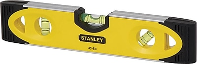 Stanley® Lighted high impact Spirit Shock Resistant Torpedo Level, 9 in (L)