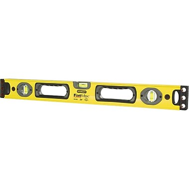 Stanley® FatMax® Box Beam Level, 48 in (L) x 2.6 in (W) x 1.2 in (H)