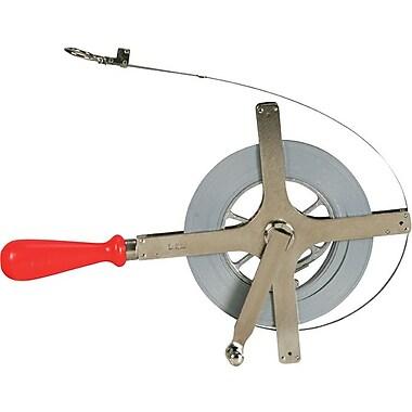 Lufkin® Clad® Derrick Tape, 100 Feet (L) x 1/4-inch (W) Blade, 1/100th Graduation