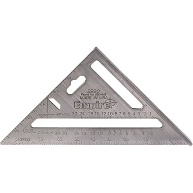 Empire® Level Heavy-Duty MAGNUM™ Rafter Square, 7 in (L) Blade