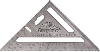 Empire® Level Heavy-Duty MAGNUM™ Rafter Square, 7
